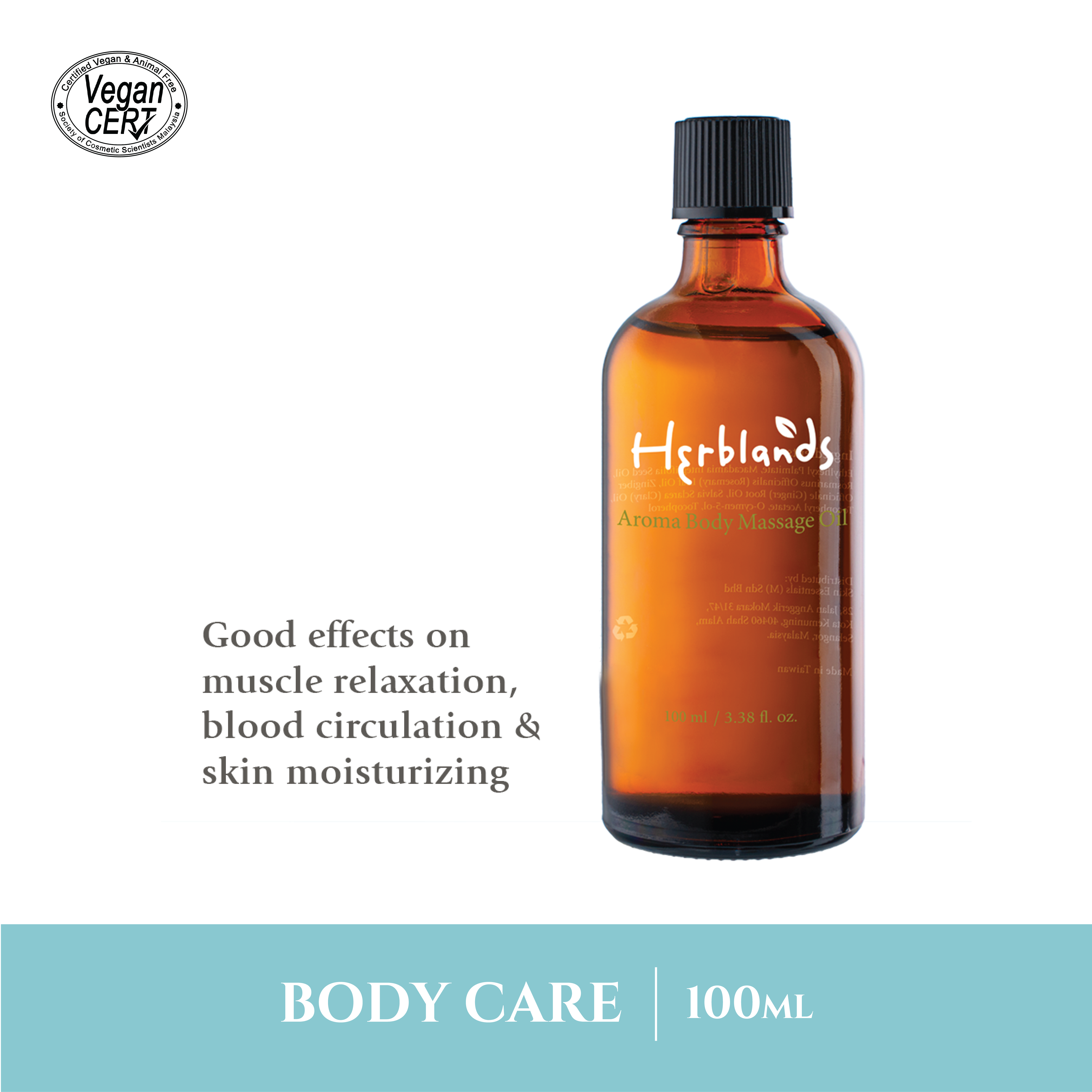 Herblands Aroma Body Massage Oil